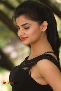 Actress Kamna Ranwat  Pictures in Black Short Dress at Selfie Raja Interview  0040.JPG