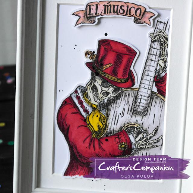 @olgakolov @crafterscompde #bild #cardmaking #halloween #markers #ausmalen #diy #stamps #rot