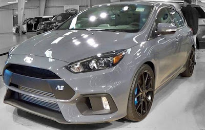 2017 Ford Focus RS Stealth Grey
