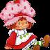 Clipart de Strawberry Shortcake.