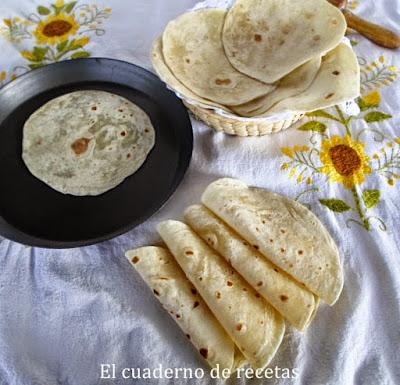 Tortillas de Harina {Cocina Mexicana}