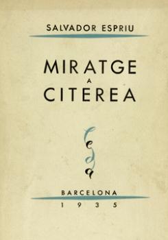 Miratge a Citerea (Salvador Espriu)