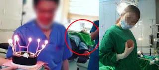Foto Selfie Dokter  Saat Sedang Operasi di Korea Selatan