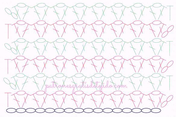Cómo tejer el punto V al crochet + Funda para Móvil DIY / Tutorial ...