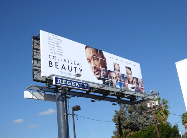 Collateral Beauty movie billboard