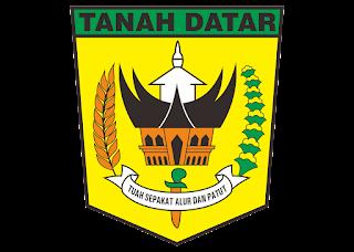 Logo Kabupaten tanah datar Vector