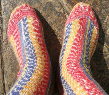 My House In Africa: Two Needle Socks