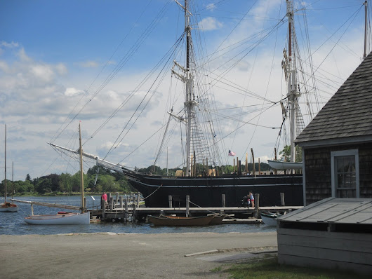 Riding Around New England : Mystic Seaport