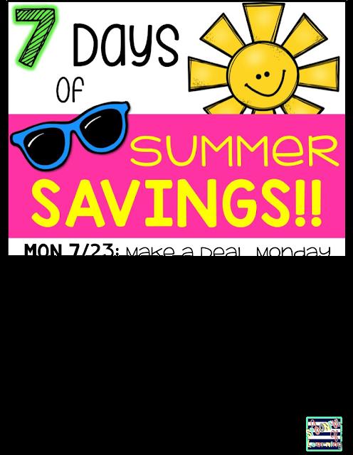 7 Days of Summer Savings 2018