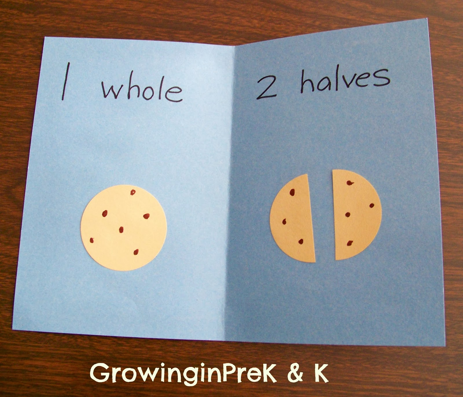 Growinginpre K And K Whole Half And Quarter In Kindergarten