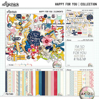 Happy For You  Collection by Akizo Designs