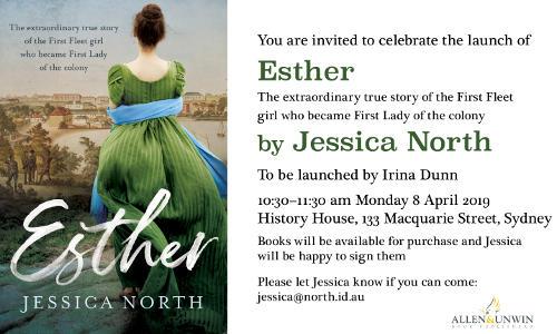 Ester - Book Launch, Royal Historial Society