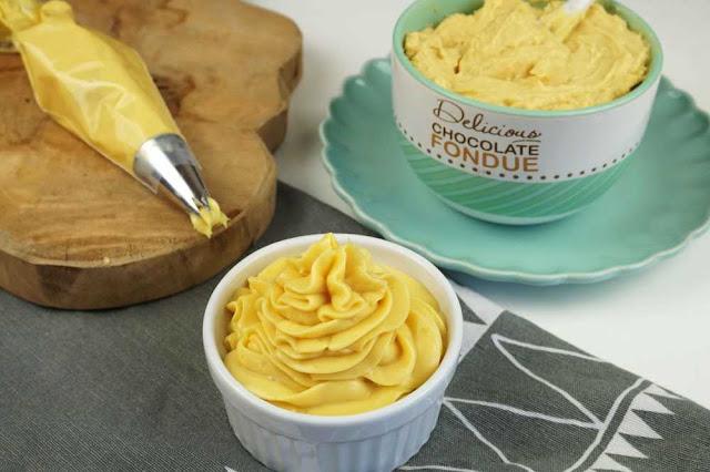 crema pastelera ideal para decorar y rellenar tartas
