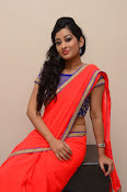 tejaswini sizzling photos in saree-thumbnail-11