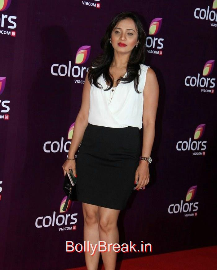 Colors Leadership Awards, Malaika Arora Khan Sridevi Hot HD Images At Colors Leadership Awards 2015