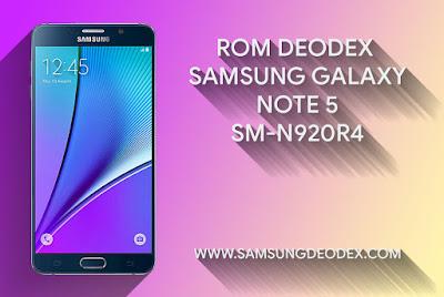 ROM DEODEX SAMSUNG N920R4 USA USC