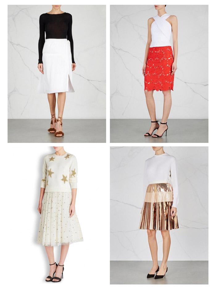 Модные юбки весны 2016