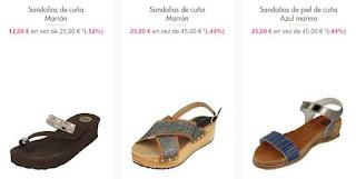 sandalias de cuña Gioseppo