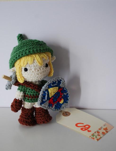 Link de amigurumi. Legeng of Zelda