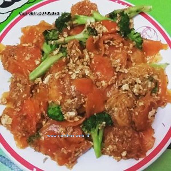 Resep seblak brokoli-nasi box walini ciwidey