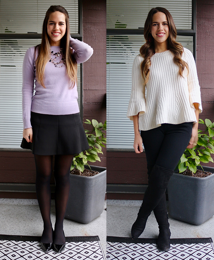 Jules in Flats - January Work Outfits