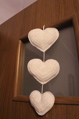 serce na szydełku