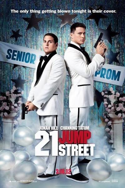 Poster of 21 Jump Street 2012 [English DD5.1] 720p BluRay With Hindi PGS Subtitles