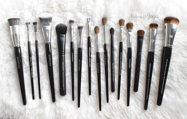 Sephora Collection Pro Brush Haul Review Comparisons Dupe