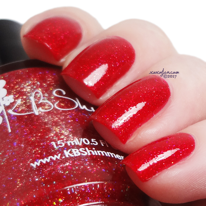 xoxoJen's swatch of KBShimmer Big Apple of My Eye