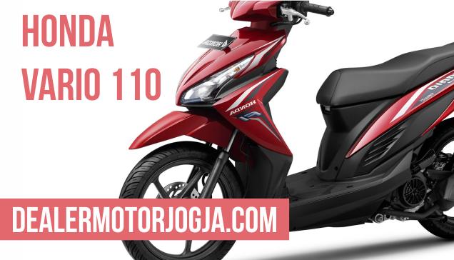 Harga Promo Terbaru Honda Vario 110 Fi Agustus 2016 untuk Wilayah Jogja dan Sekitarnya
