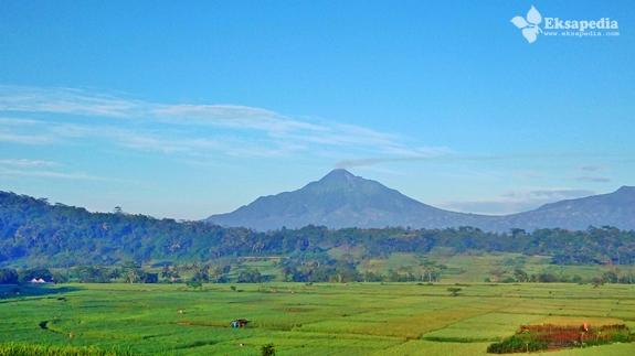 Keindahan Gunung Merapi Dari Dlingo