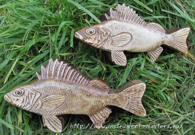 подарок рыбаку - шкатулка