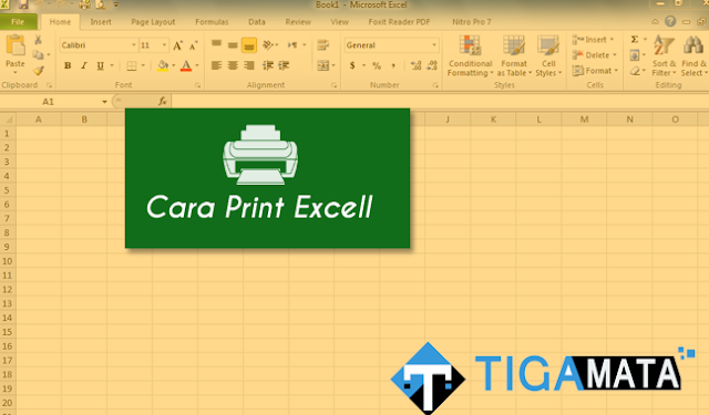 Cara Print File Excell Agar Sesuai Ukuran Kertas dan Tidak Terpotong