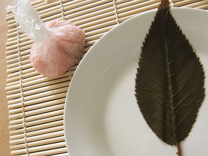 Feuille de cerisier salée pour sakura mochi
