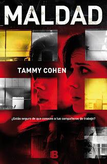 Portada Maldad Tammy Cohen