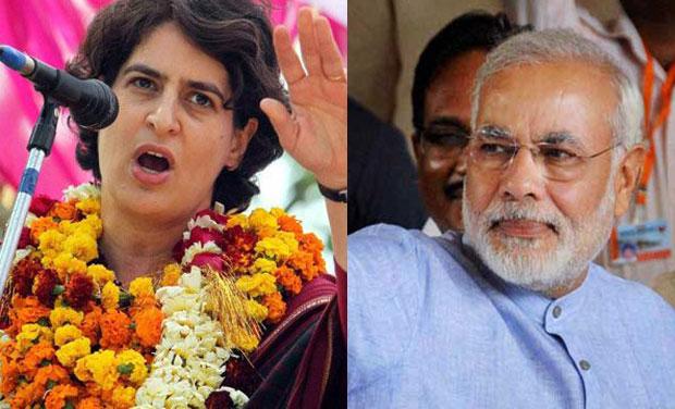 प्रियंका गांधी वाराणसी से चुनावी मैदान में, क्या ? आमने-सामने होंगे दो दिग्गज नेता