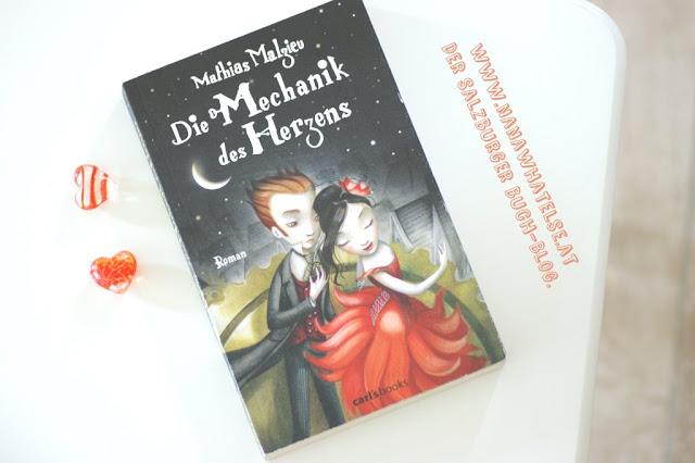 Buchempfehlung Die Mechanik des Herzens von Mathias Malzieu www.nanawhatelse.at