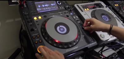 Teknik mixing dalam ilmu DJ, ini gambarannya