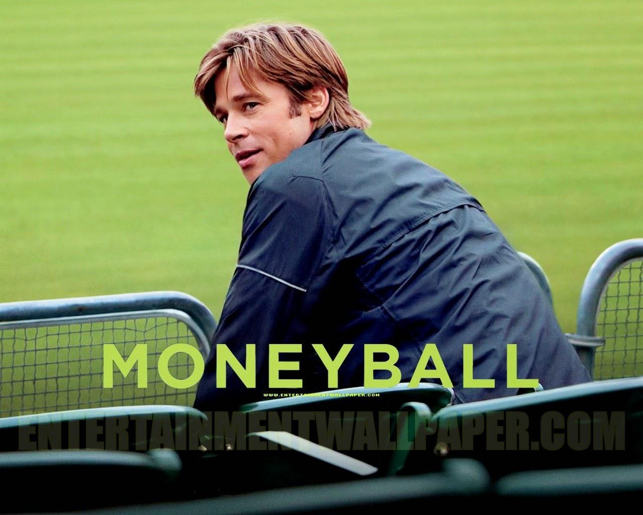 Moneyball. Brad Pitt