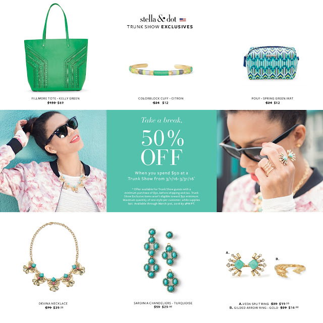 Stella & Dot Trunk Show Exclusives