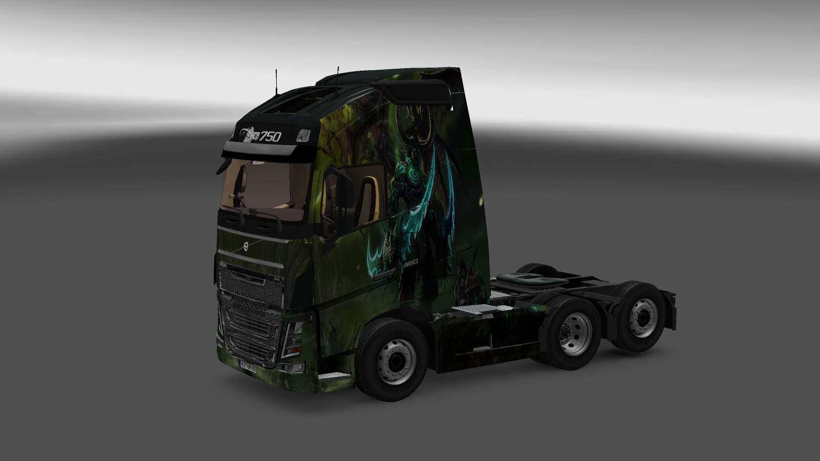 Volvo 2013 Illidan Skin