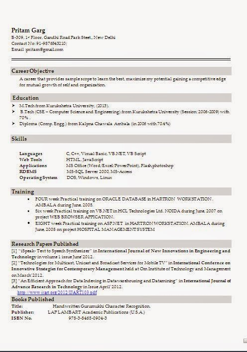Different Resume Format ] - resume formats jobscan how ...