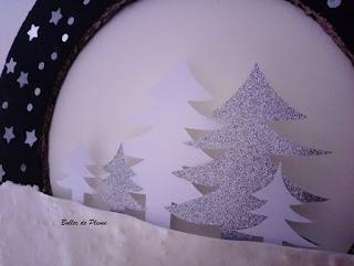 Bulles de Plume DIY Couronne de Noël