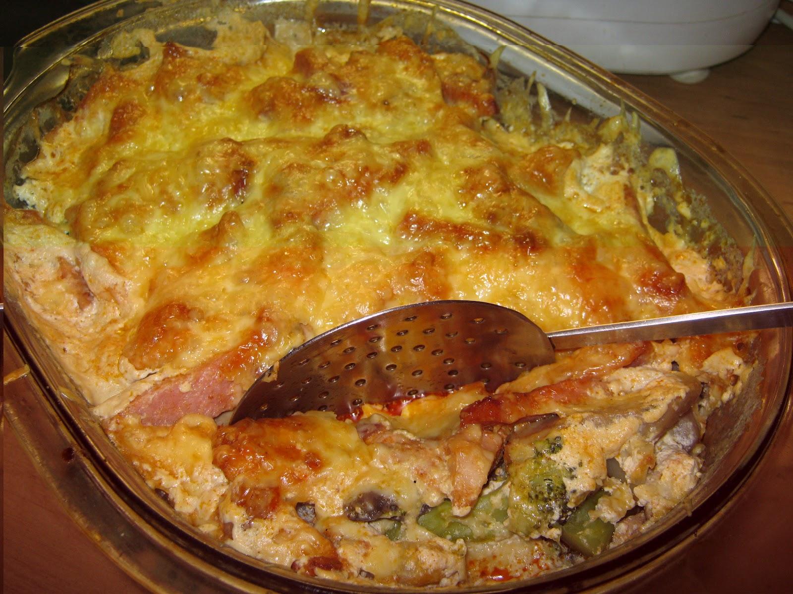Teri konyhája: Rakott karfiol és brokkoli