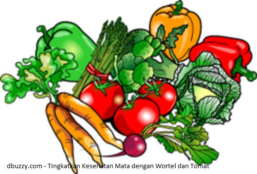 dbuzzy.com - Tingkatkan Kesehatan Mata dengan Wortel dan Tomat