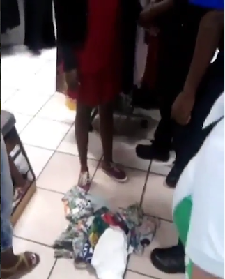 WOMAN HIDES STOLEN ITEMS IN HER P@NTIES – WHAT THEY DID TO HER WILL MAKE YOU CRY (PHOTOS)