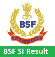 BSF SI Result