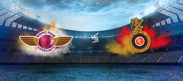 Royal Challengers Bangalore vs Rising Pune Supergiant, 17th Match Apr 16 Sun Highlights
