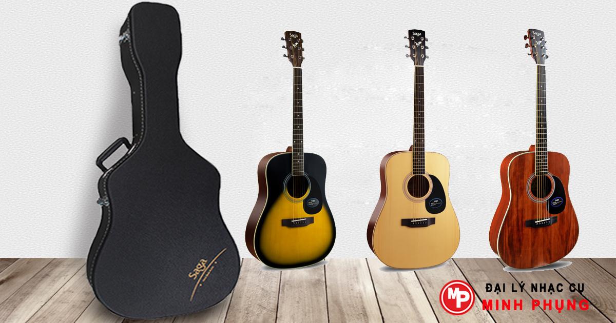Đánh giá Đàn Guitar Acoustic Saga SF700C ở đâu bán