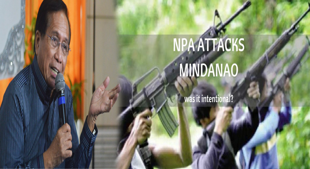 2sECGKs BREAKING NEWS! MINDANAO ATTACKS BY NPA: ARE THERE REALLY PEOPLE WHOSE JOB IS TO MAKE PRES. DUTERTE AND HIS ADMINISTRATION FAIL???